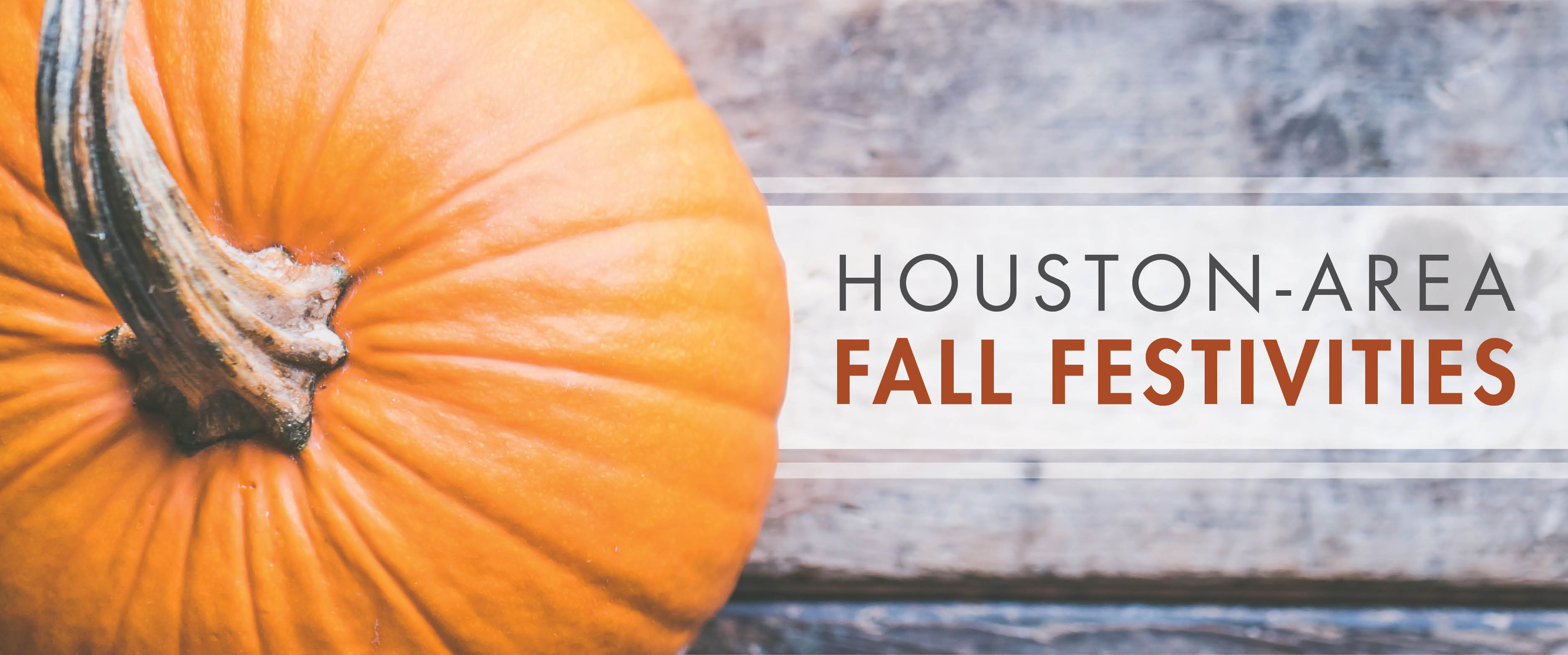 Houston-Area Fall Festivities