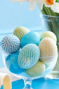 Twine-Wrapped Eggs