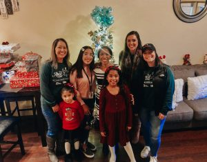 Angel Tree 2020 Family Photo