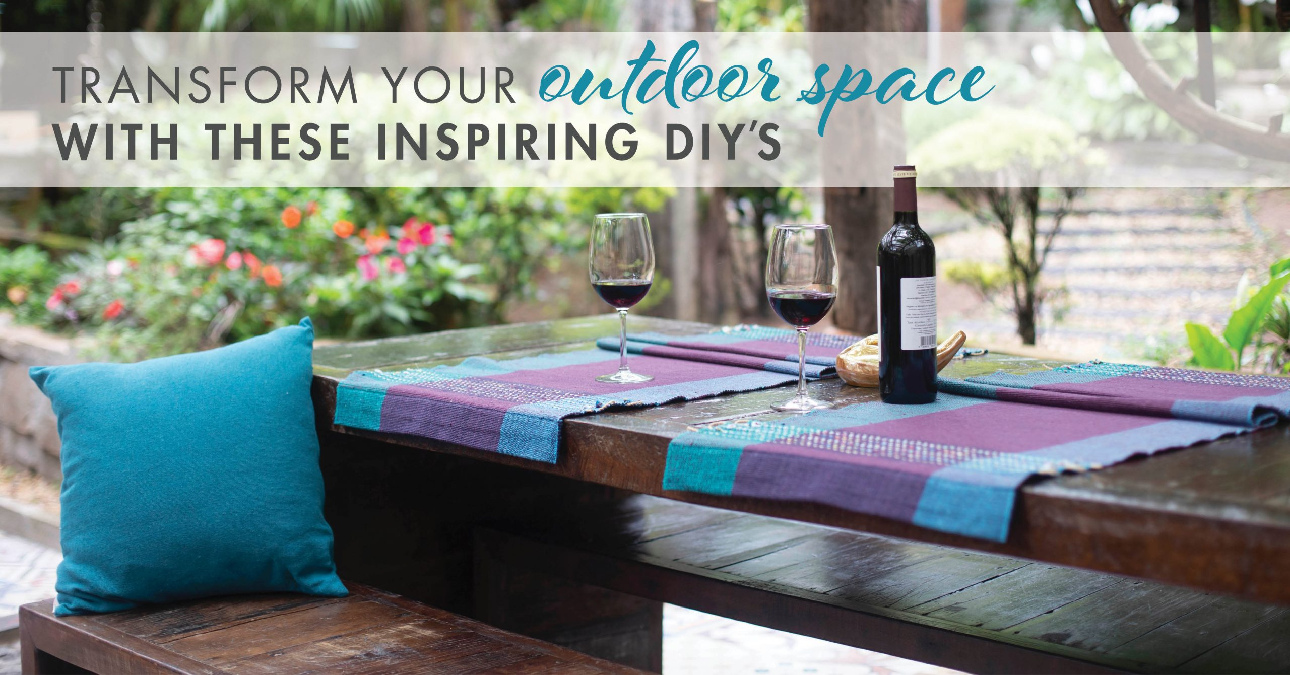 Transform Your Outdoor Space With These Inspiring DIY's