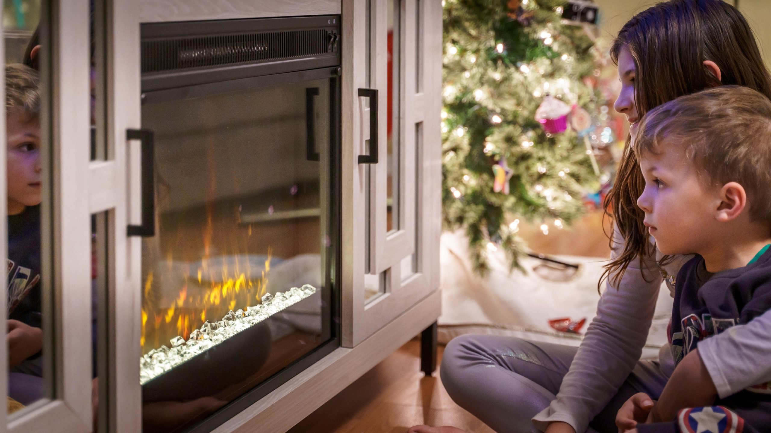 Eco-Friendly Electric Fireplace