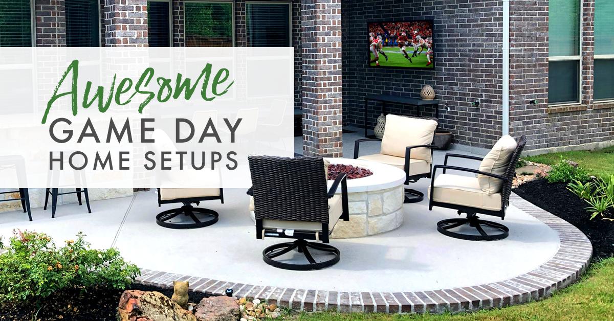 Awesome Game Day Home Setups